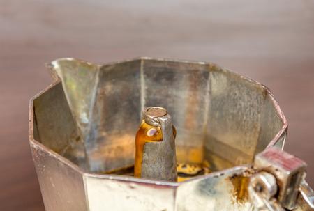 wakening: Espresso maker Stock Photo