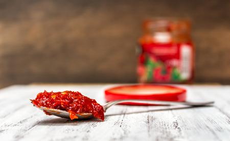 pista: Minced hot pepper paste
