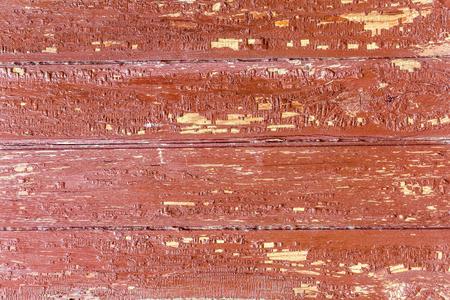 peeled: Wooden Background Peeled Paint