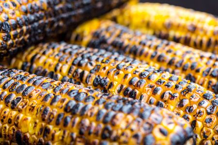 cob: Grilled Corn on a cob Stock Photo