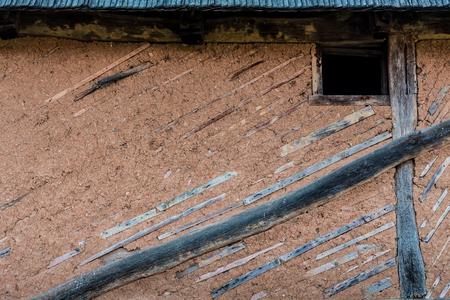 adobe wall: Adobe Wall Stock Photo