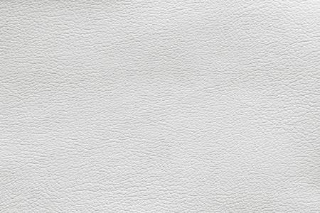 Close-up van een witte lederen patch