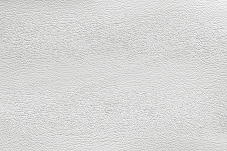 Close up of a white leather patch