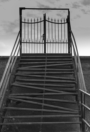 crooked: Crooked Stairs and a Gate