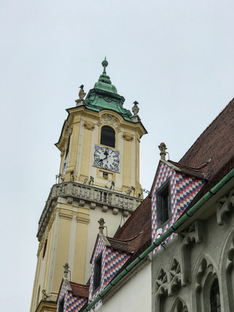Church Tower in Bratislava, Slovakia