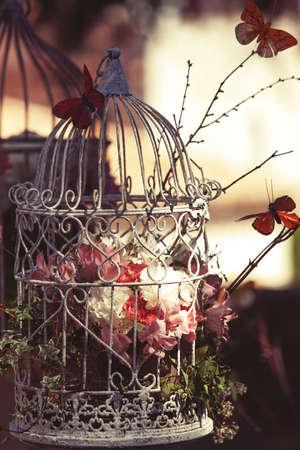 Revival fiore decorazione con i fiori dentro il carcere. Archivio Fotografico - 20175652
