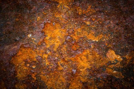 oxidated: Superficie de metal oxidado hacer una textura abstracta