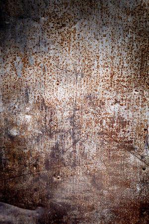 oxidated: Superficie de metal oxidado hacer un resumen