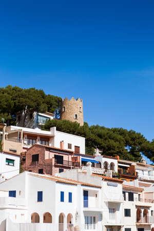 Landscape of this small Costa Brava village called Sa Tuna in Begur.