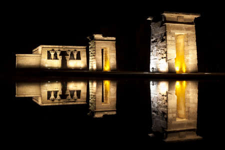 relocated: Temple of Debod in Madrid, was relocated to spain in 1968 from southern egypt.