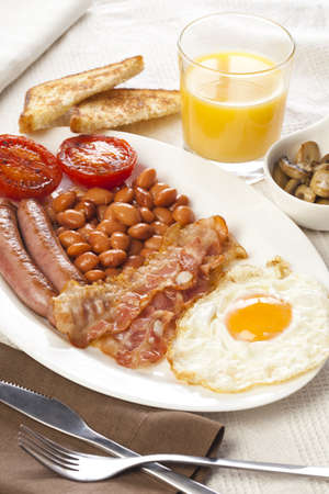 Great english breakfast ready to eat! photo