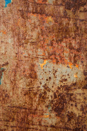 oxidated: Oxidated metal surface making an abstract texture, high resolution  Stock Photo
