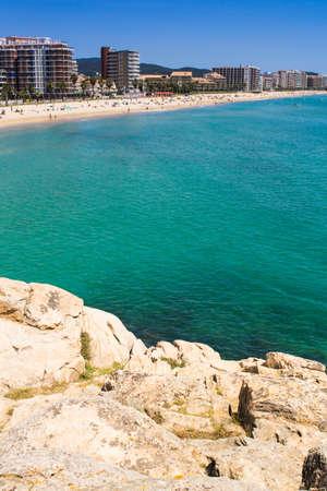antoni: Beach of Sant Antoni de Calonge - Costa Brava.