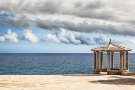 cami: Landscape of Cami de Ronda, a little pathway around the sea. Costa Brava.