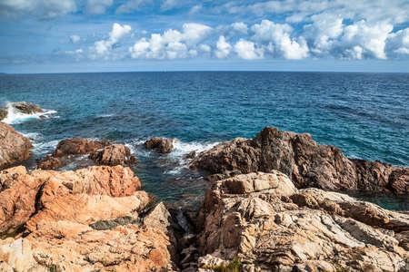 costa brava: Costa Brava paysage.