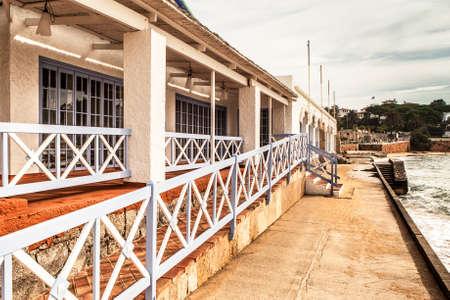 costa brava: Picturesque balcony in Sagaro beach, Costa Brava.