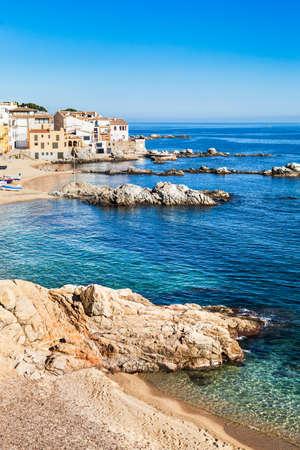 Costa di Calella de Palafrugell. Costa Brava. Archivio Fotografico - 24981355