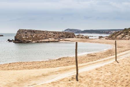 costa brava: La plage de Sant Marti, Costa Brava.