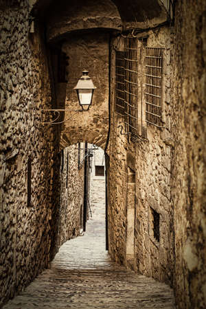 tunel: Girona jewish neighborhood, one of the best conserved jewish quarter of Spain.