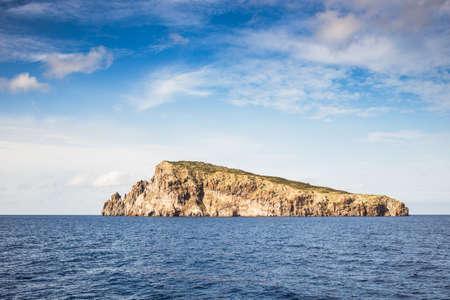 aeolian: Aeolian islands rocks in the sea. Stock Photo