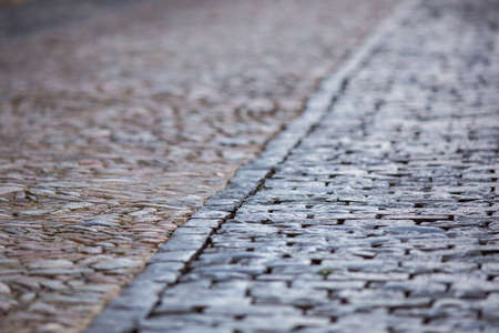 Pavement of an old city