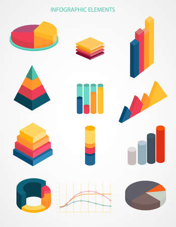 Chart, financial diagram, graph, report, stage elements.