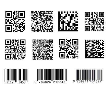 Bar codes illustration.