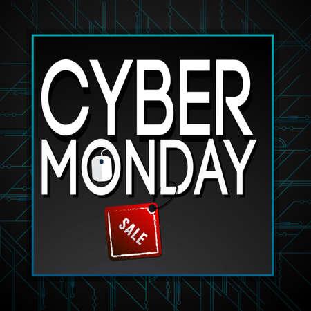Cyber Monday deals design.