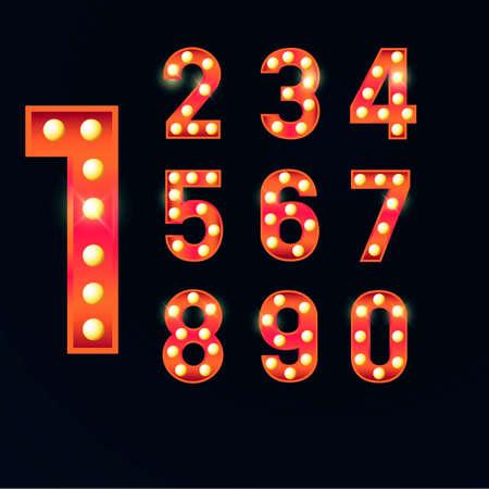 libra esterlina: números Vectores