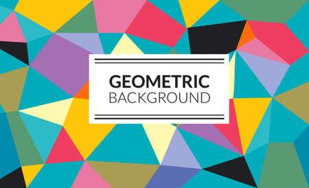 geometrical background Ilustrace