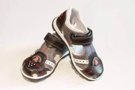 Baby sandal Closeup photo