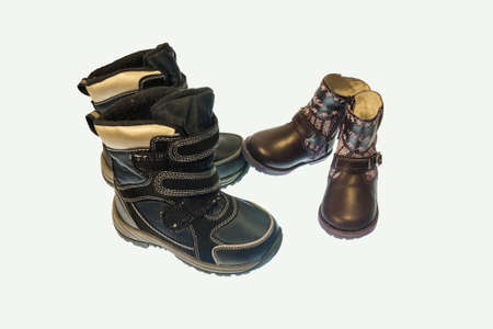 baby shoes for the fall and spring season photo
