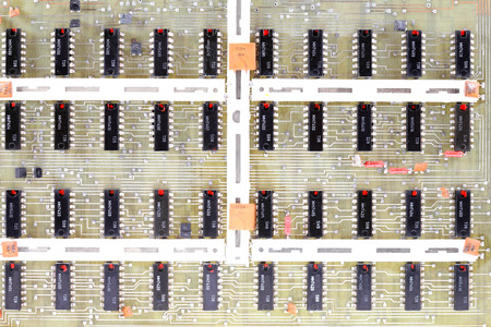 processor transit countries, semiconductors, resistors, capacitors, located on the motherboard
