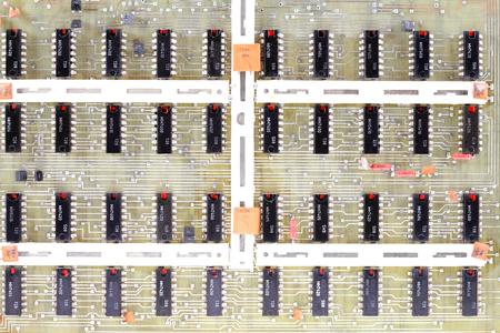 resistors: processor transit countries, semiconductors, resistors, capacitors, located on the motherboard