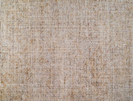 Sackcloth texture, close-up, rough fabric