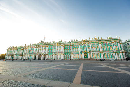 The State Hermitage Museum - one of the largest and most significant art and historical museums in Russia and the world, September 14, 2016, St. Petersburg, Russia.