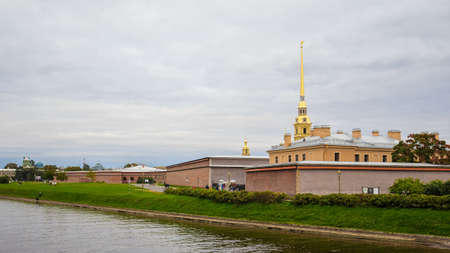 Peter and Paul Fortress in St. Petersburg, Russia. September 18, 2016 Editorial