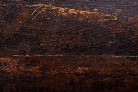 darck: Darck brown wooden background, natural wooden texture, horizontal photo Stock Photo