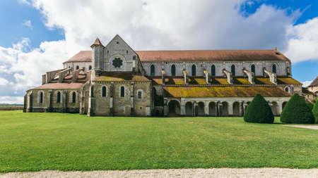 Abbey in France Pontigny, the former Cistercian abbey in France, one of the five oldest and most important monasteries of the order