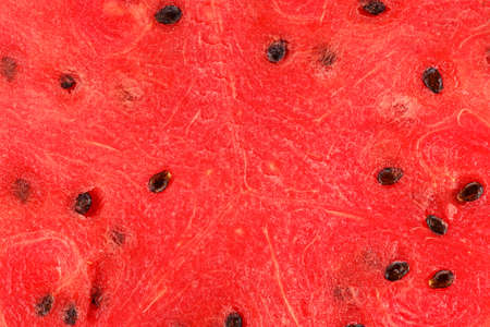 sliced watermelon background. clearly visible texture berries, moisture and seeds