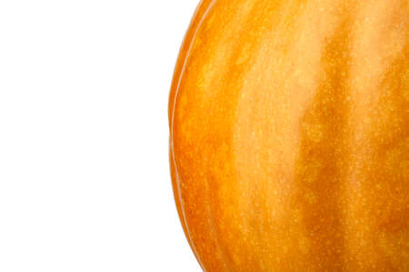 pumpkin isolated on white background. Healthy food Banco de Imagens