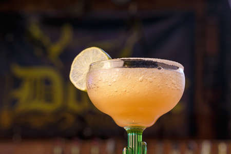 Margarita is a cocktail with tequila, with lime or lemon juice, citrus liqueur - triple-sec, and ice. It is classified as a drink for the whole day.