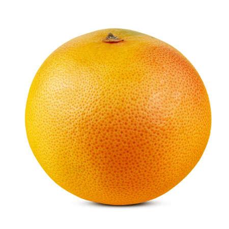 whole grapefruit on a white background. isolated. Stock Photo