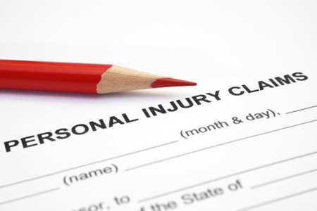 accident de travail: R�clamation de blessures