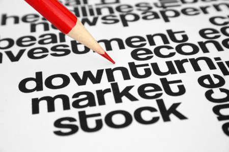 Downturn Stock Photo - 11298418