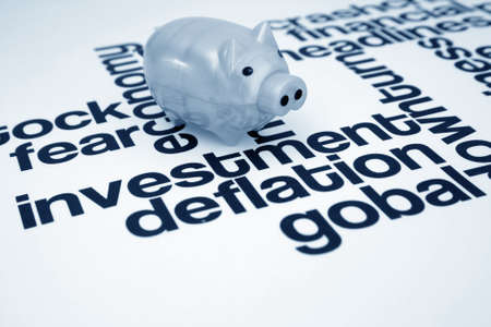 Investment and deflation  Stock Photo - 11298421