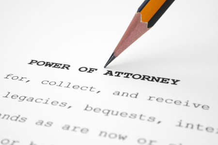 Power of attorney photo