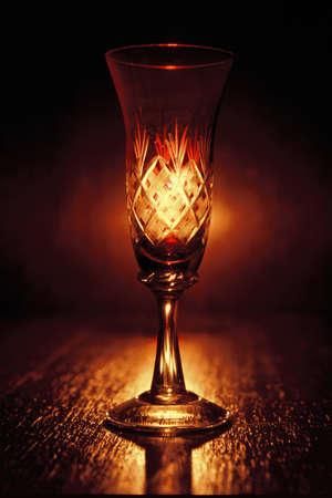 stemware: Wine glass Stock Photo