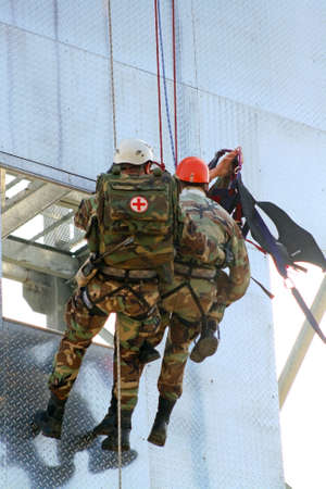 Rescue team Stock Photo - 11738451