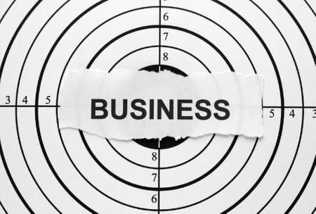 Business target photo